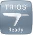 Logo TRIOS READY : traitement des flux numériques 3 SHAPE